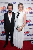 LOS ANGELES - APR 23:  Sebastian Knapp, Mischa Barton arrives at the 7th BritWeek Festival