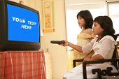 Asian Girls As Princess, Tv Remote Control