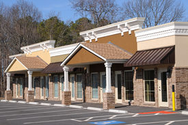 pic of commercial building  - New Commercial Building with Office and Retail Space - JPG