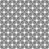 Design Seamless Uncolored Diagonal Diamond Pattern