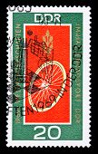 Ddr Stamp, Track Cycling