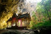 Amazing Oriental Thai Style Pavillion In The Cave