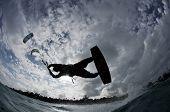 Kite Boarding Trick