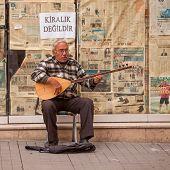 Turkish Street Musician