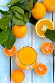 Постер, плакат: Freshly squeezed orange juice