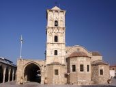 image of larnaca  - The old church of Saint Lazarus in the city of Larnaca Cyprus - JPG