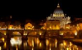 St. Peter's Basilica At Night