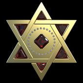 stock photo of torah  - Star of David - JPG