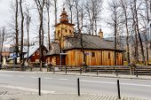 Made Of Wood, Old Church In Zakopane