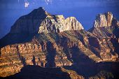 pic of zoroaster  - Brahma Temple and Zoroaster Temple North Rim Grand Canyon National Park Arizona - JPG