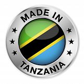 Made In Tanzania Silver Badge