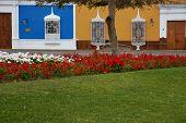 Colourful Plaza de Armas in Peru