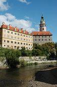 Czech Krumlov Castle
