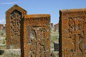 Khachkars (armenian Cross Stones) In Noratous