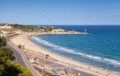 Central City Beach Of Tarragona, Spain