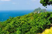 Exotic Backdrop Idyllic Panorama