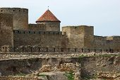 Old Akkerman Fortress On The River Bank In Belgorod-dnestrovsky,ukraine
