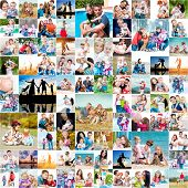 foto of christmas baby  - collection photos of happy families - JPG