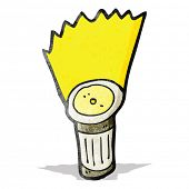 cartoon torch
