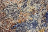 picture of cleaving  - Detail of the surface of bluestone  - JPG