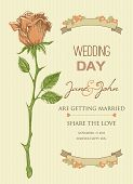 Wedding invitation template / bridal shower