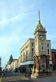 Clock Tower In Early Morning, Brighton, England Uk.