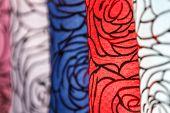 Thai Style Close-up Cloth Texture