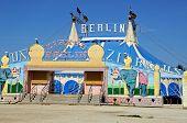 Circus tent, Spain.