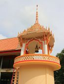 Bell tower at Wat Khok Klang