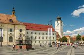 The Main Square Of Sibiu