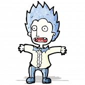 cartoon vampire boy