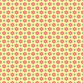 A Seamless Geometrical Flower Wallpaper Pattern - All colors grouped together, so can easily be changed - EPS 8
