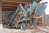 Vintage Combine Harvester