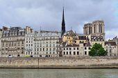 Paris, France. Cite Island