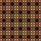 Colorful Mosaic Background In Kaleidoscope Style
