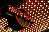 Las Vegas Hard Rock Cafe Sign