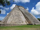 Pyramid Of The Magician , Uxmal