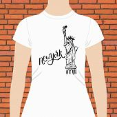 image of memento  - Casual White Woman T - JPG