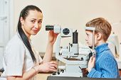 stock photo of ophthalmology  - Optometry concept - JPG