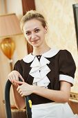 pic of housekeeper  - Hotel service - JPG