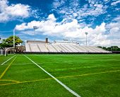 stock photo of generic  - Generic American football and general sports stadium - JPG