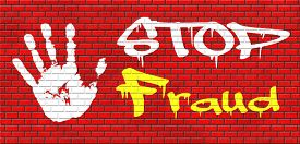 image of corruption  - fraud bride and political or police corruption money corrupt cyber or internet crime graffiti on red brick wall - JPG