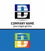 foto of letter d  - Letter D logo symbol design illustration vector - JPG