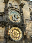 Постер, плакат: Medieval Astronomical Clock In Prague Czech Republic