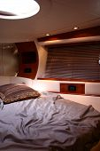 Yacht Bedroom Interior