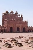 Tombs, Fatehpur Sikri Fortress, Agra, India