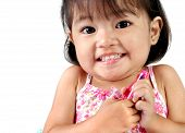 Three Year Old Asian Girl