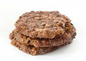 Brown Oatmeal Cookies