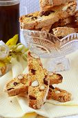traditional Italian biscotti cookies