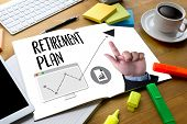 Retirement Plan Savings  Senior Investment  Retirement Plan  Pension , Retirement Aspirations And Fi poster
